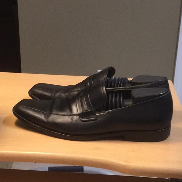 09a06ae10da Hugo Boss Other - Hugo Boss Men Italian Loafer sz 12 Black Leather